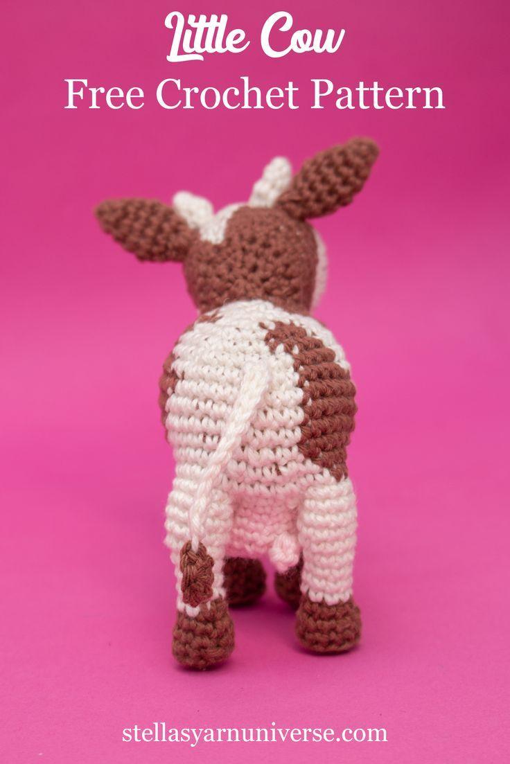 Photo of Amigurumi Cow – Free Crochet Pattern – Stella's Yarn Universe