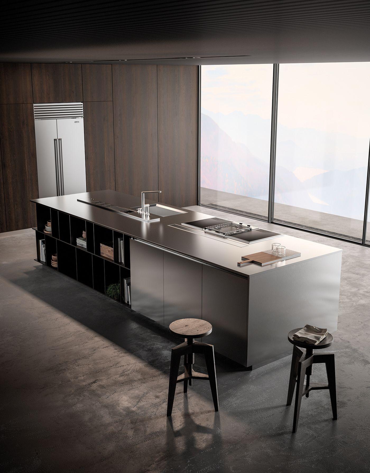 effeti kitchen 2018 on behance kitchen pinterest kitchen rh pinterest com