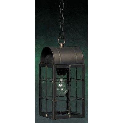 Brass Traditions 100 Series 1 Light Outdoor Hanging Lantern Finish