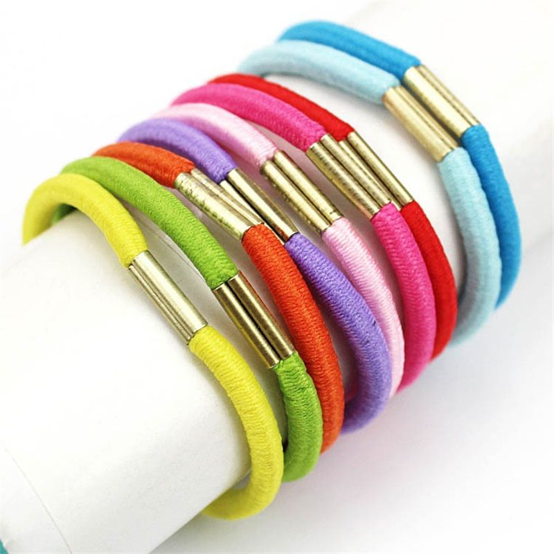 Click To Buy 1pcs 4mm Colorful Hair Accessories For Women