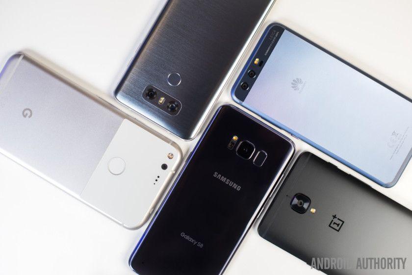 Photo Fight Galaxy S8 vs LG G6, Xperia XZs, Huawei P10