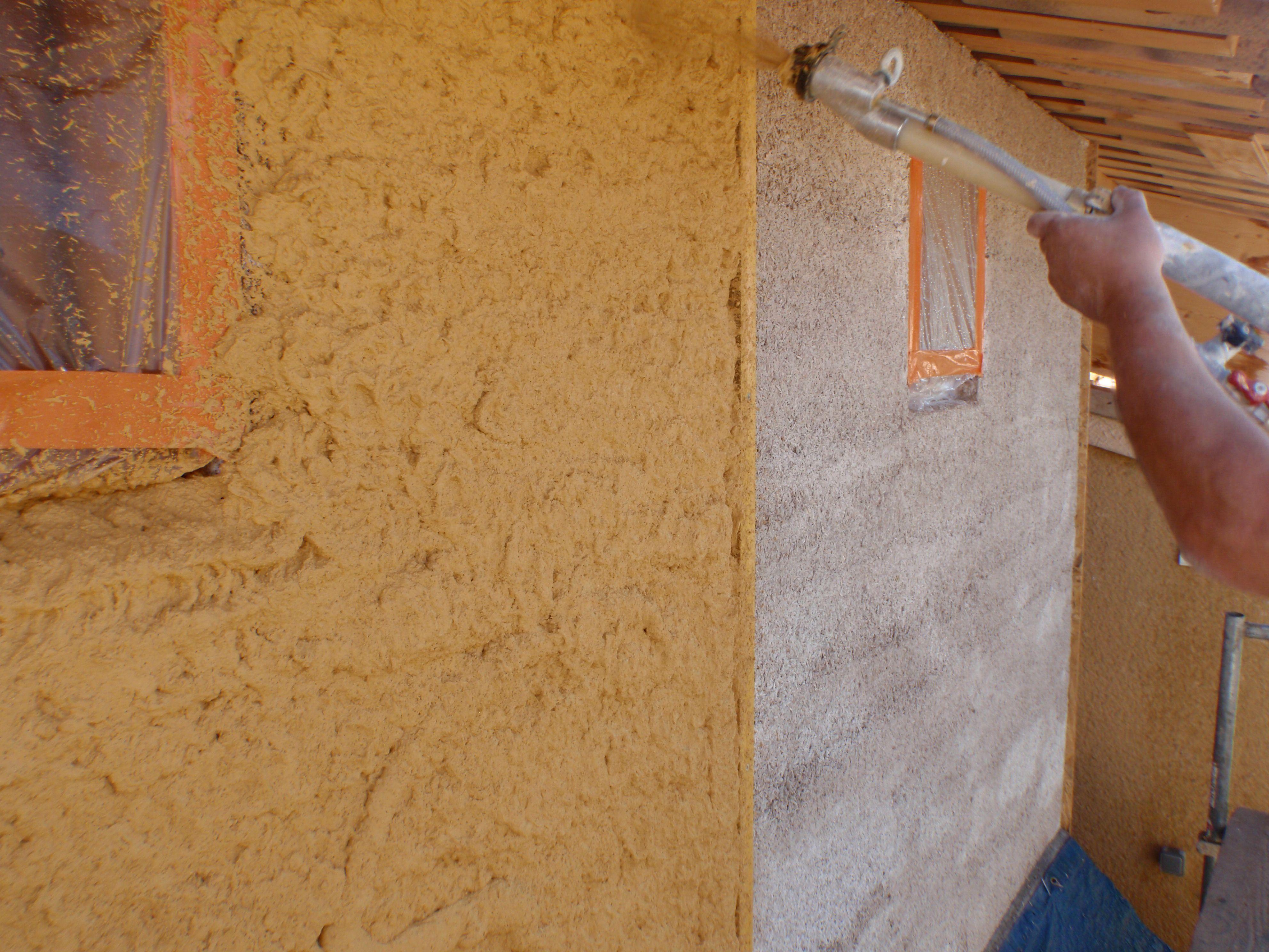 Vieujot Platre Et Chaux béton de chanvre, ravalement, plâtre & chaux, chènevotte