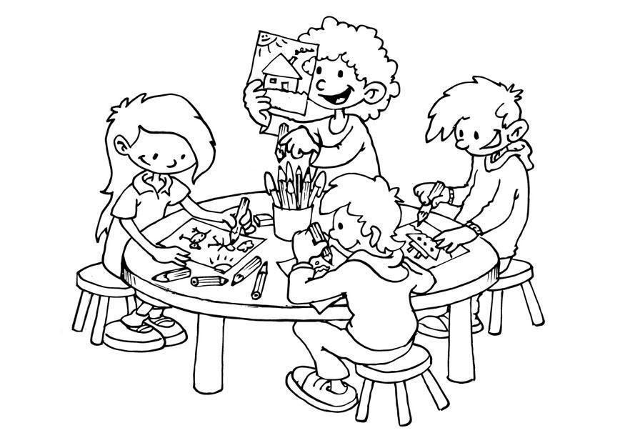 Ausmalbilder Kindergarten Malbilder Ausmalbilder Ausmalen Malvorlagen Fur Kinder