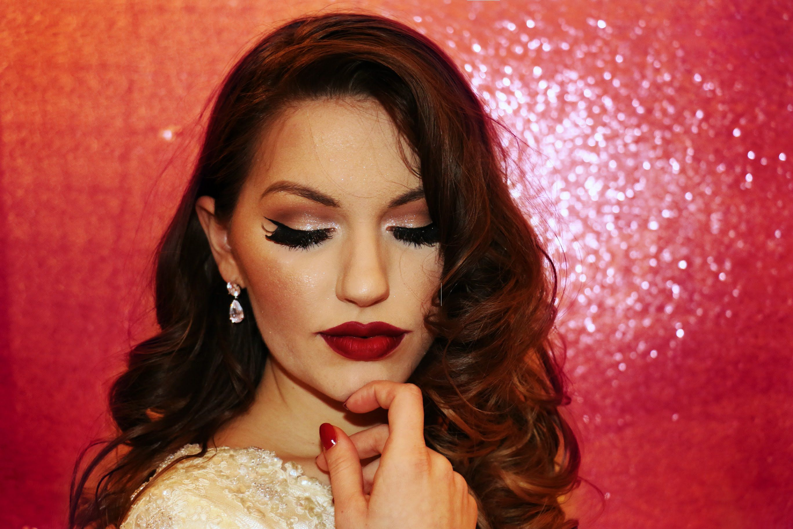 Old Hollywood Vintage Glam Makeup Tutorial YouTube