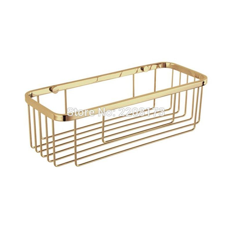 New Luxury Bathroom Accessories stainless steel Gold Style single ...