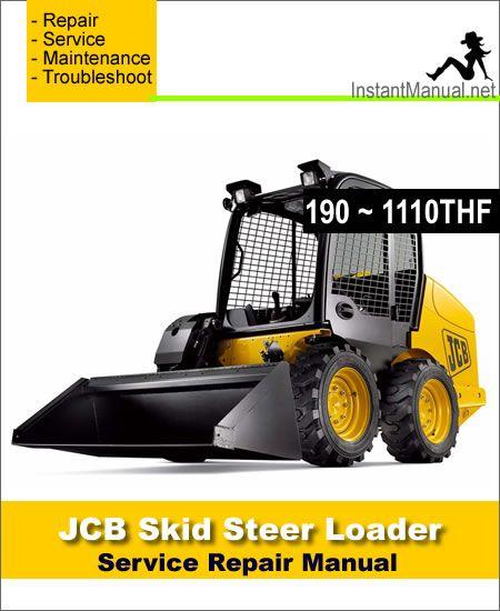 JCB 190 190HF 190T 190THF 1110 1110HF 1110T 1110THF Skid ... Jcb Robot Wiring Schematic on