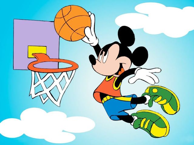 Sports Intelligence Sports Cartoon Mickey Mouse Plays