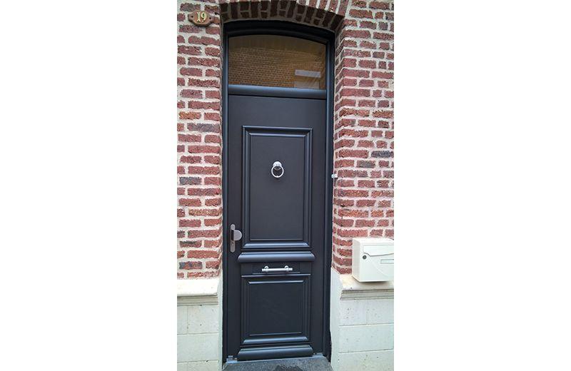Remplacement du0027une porte du0027entrée Odyssée Belu0027M à Harnes Fenêtres - poser porte d entree