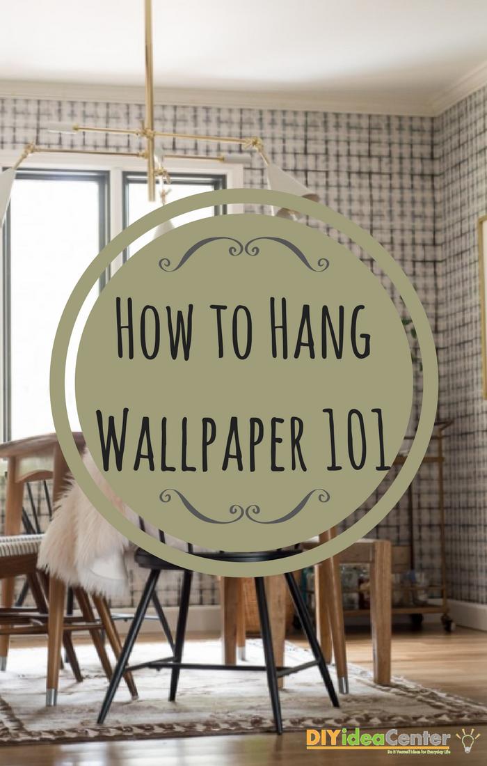How to Hang Wallpaper 101 | How to hang wallpaper, Diy ...