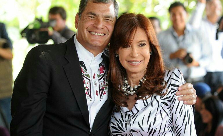 Rafael Correa y Cristina Fernández de Kirchner | Women