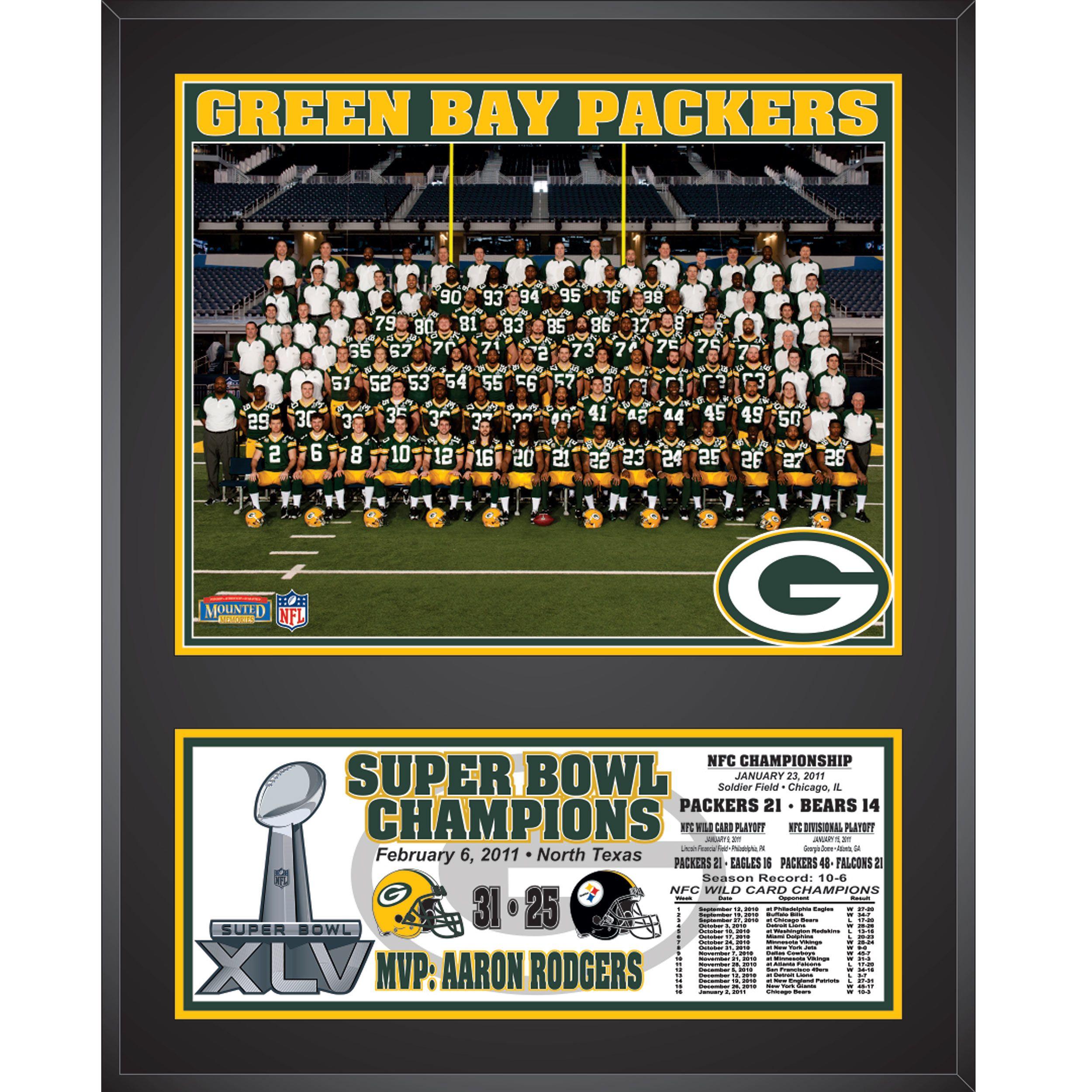 Super Bowl Xlv Team Photo Plaque At The Packers Pro Shop Superbowl Xlv Green Bay Green Bay Packers
