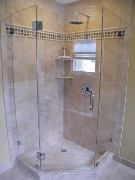 angled shower ideas | Shift the focus of your small bathroom ...