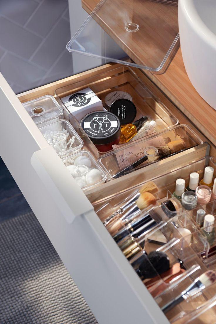 Ordnung im Bad - Badezimmer in 17  Ikea badzubehör, Ikea bad