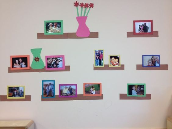 7 Inspiring Kid Room Color Options For Your Little Ones: Displaying Family Pictures In Preschool Classroom
