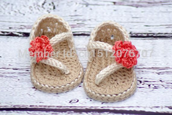 Crochet Baby Pattern Sandals - Carefree Sandals number   toddler shoes   handmade baby shoes  3pairs/6pieces