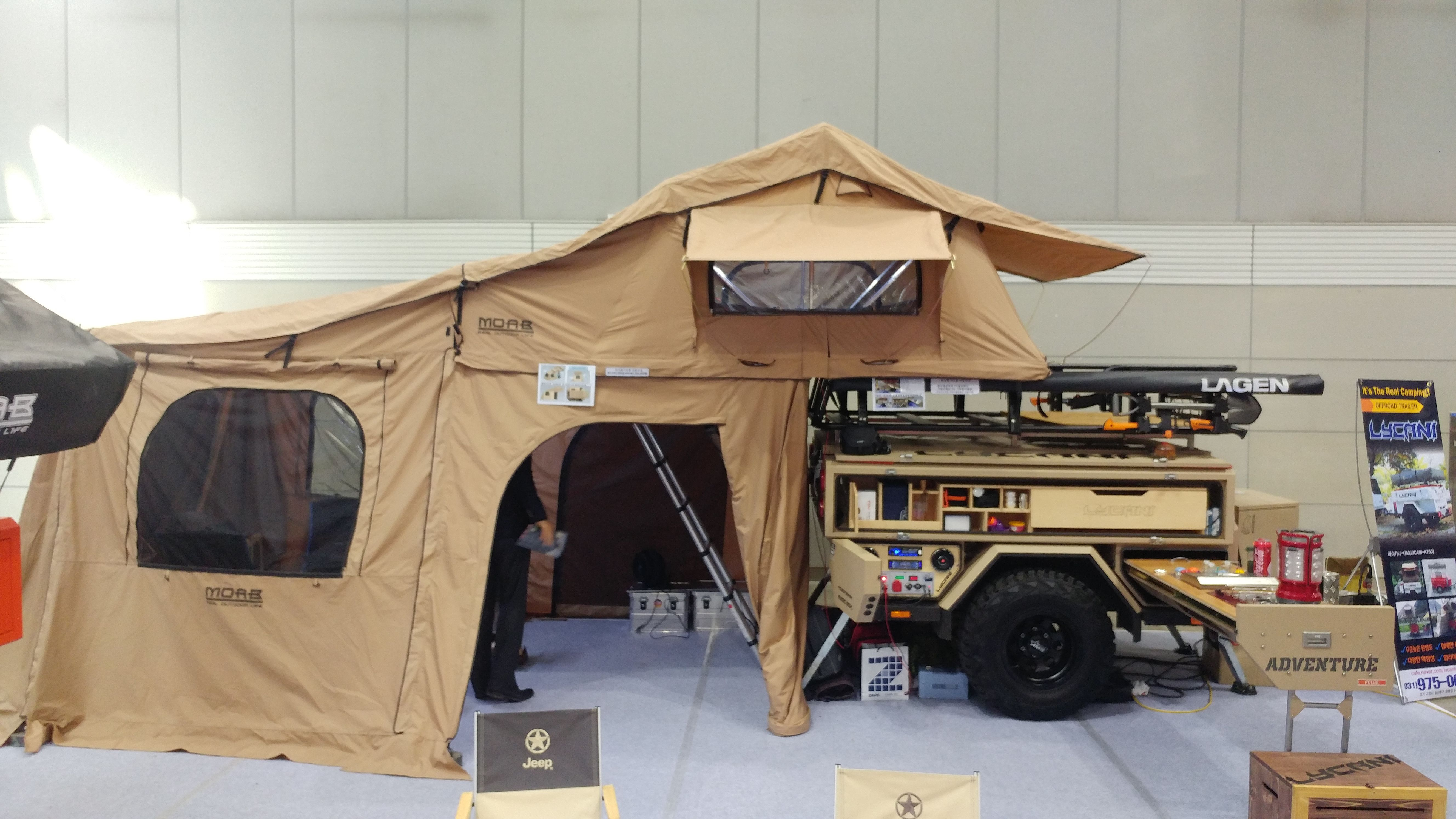 lycani offroad camping trailer LYCANI