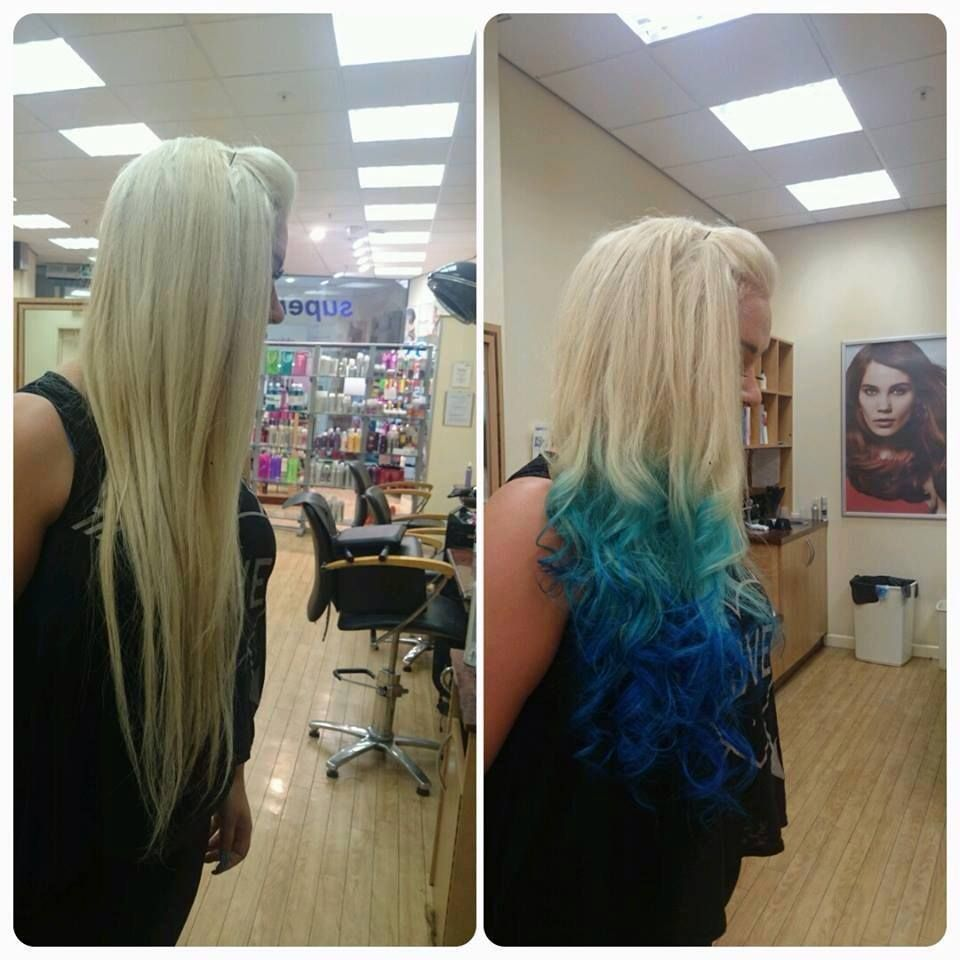 Beat The Mondayblues With This Cool Dip Dye By Nicole At Supercuts