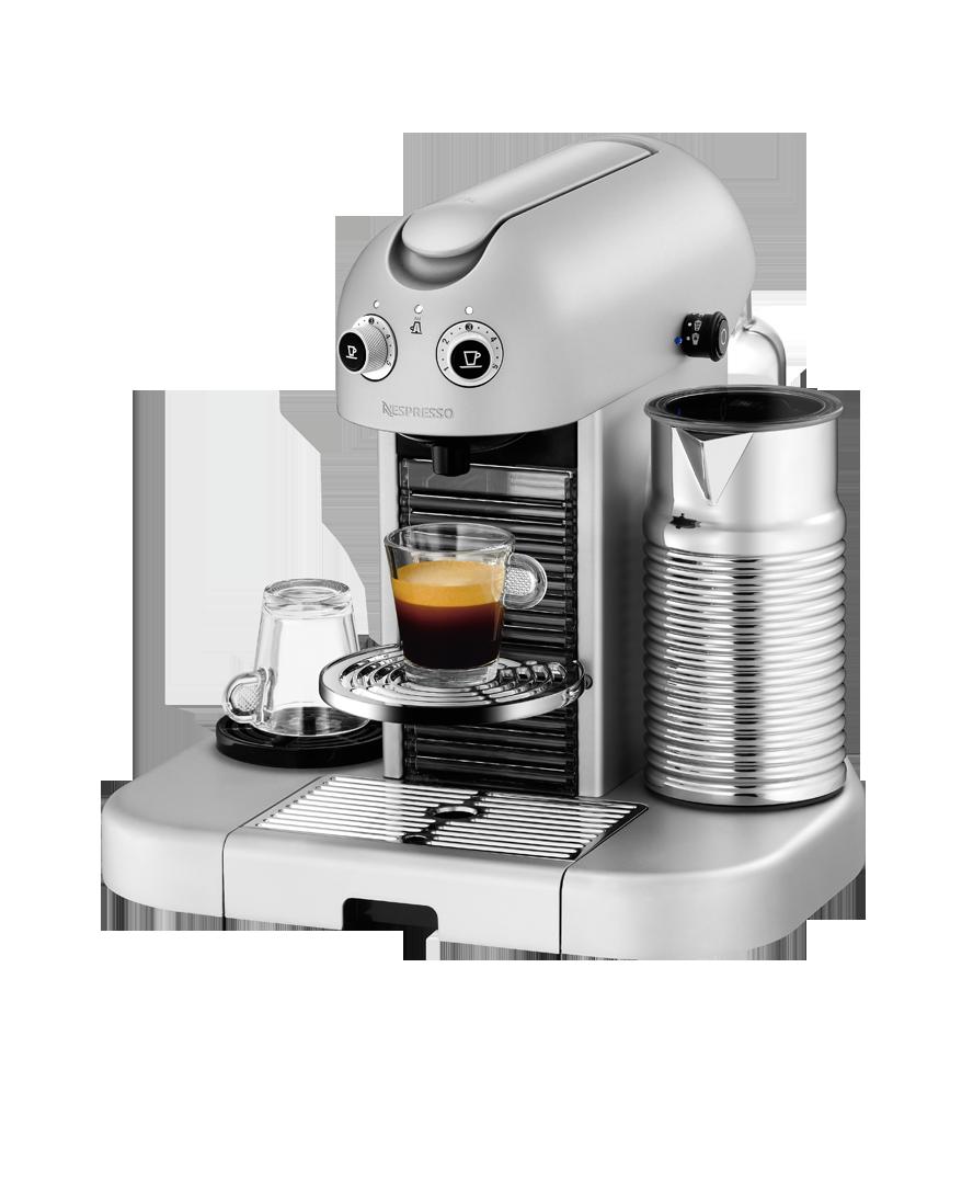 nespresso gran maestria silver platinum coffee machine kr coffe therapy pinterest. Black Bedroom Furniture Sets. Home Design Ideas