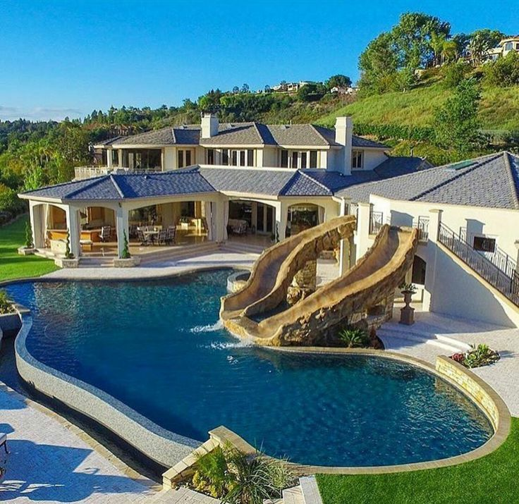 gorgeous home - Big Houses With Pools With Slides