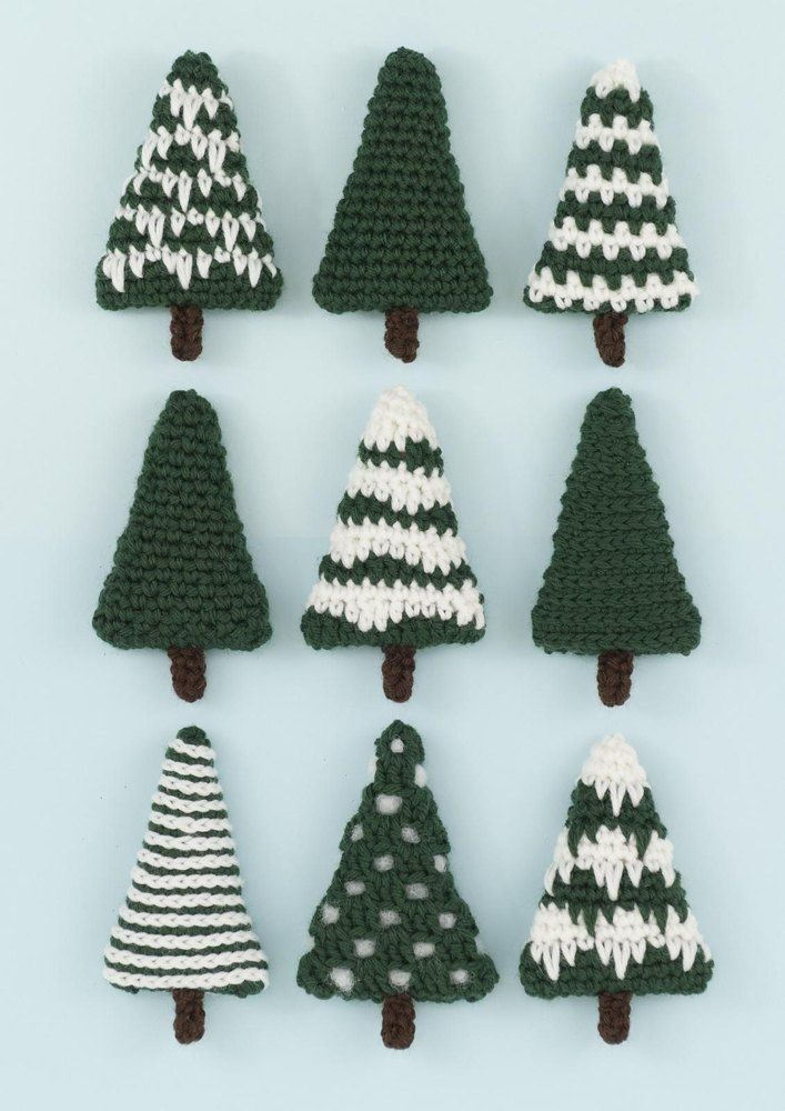 Nine Different Ways You Can Put Your Goals In Writing: Nine Different Christmas Trees Which Can Be Left As They