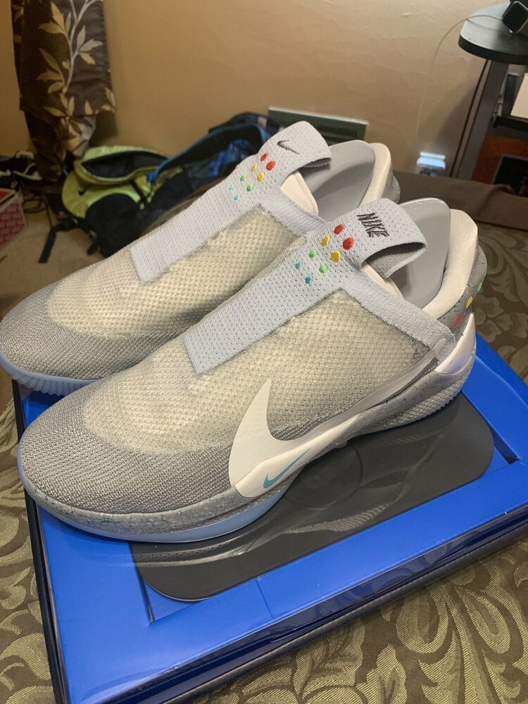 43f76d95 Details about NIKE ADAPT BB MAG WOLF GREY AO2582-002 Size 7-14 Ships ...