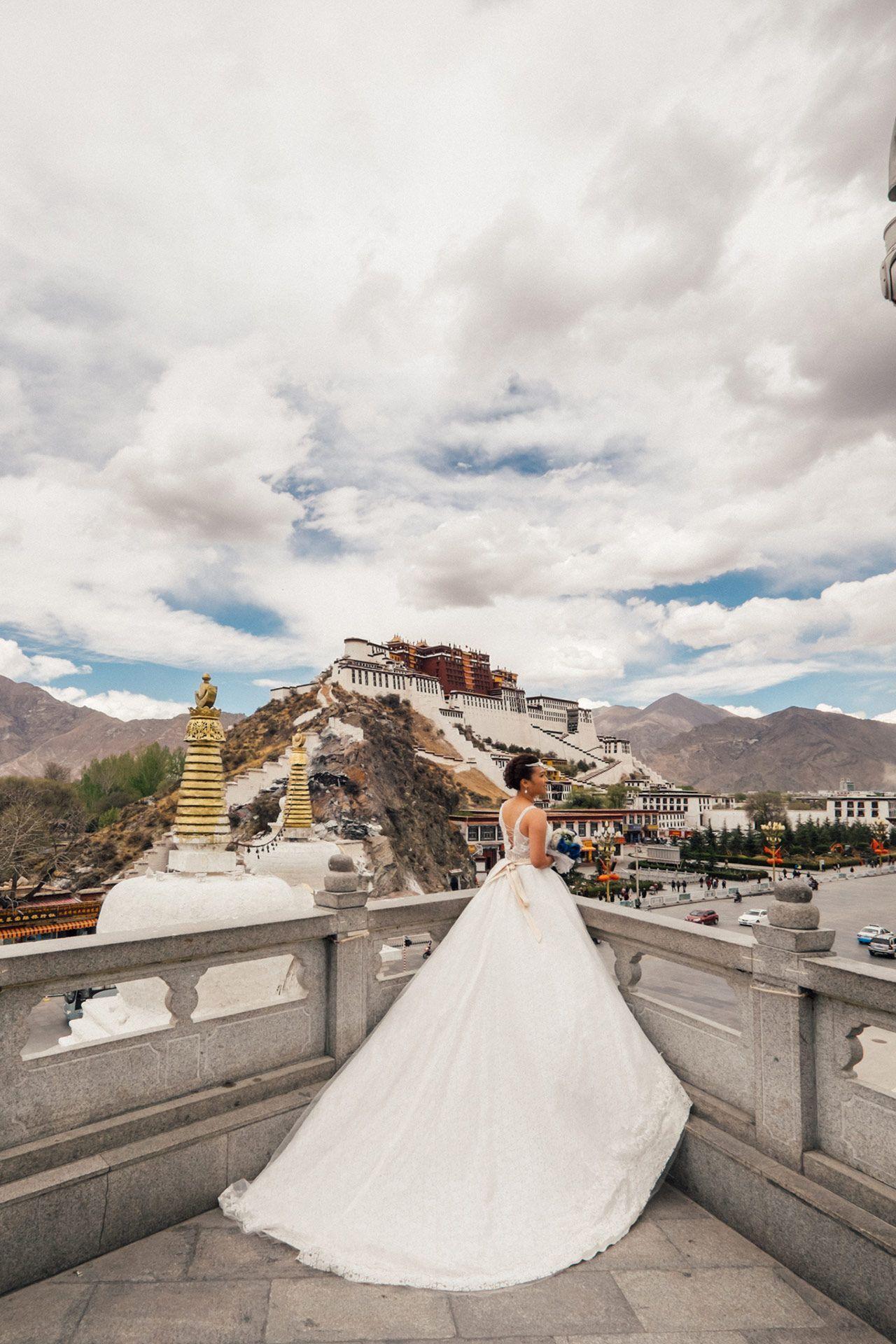 Destination Pre Wedding Photography in Lhasa Tibet Knottinu0027
