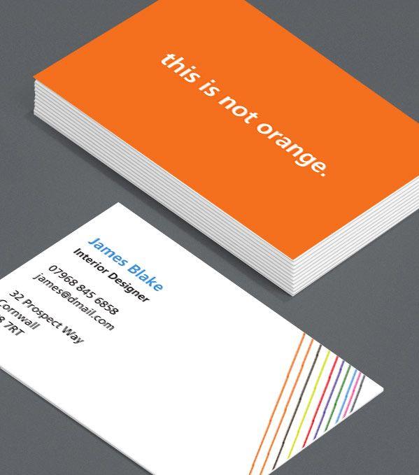 Browse Business Card Design Templates Moo United Kingdom Business Card Template Design Template Design Customizable Business Cards