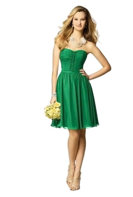 Kelly Green Bridesmaid Dresses | My Wedding! | Pinterest