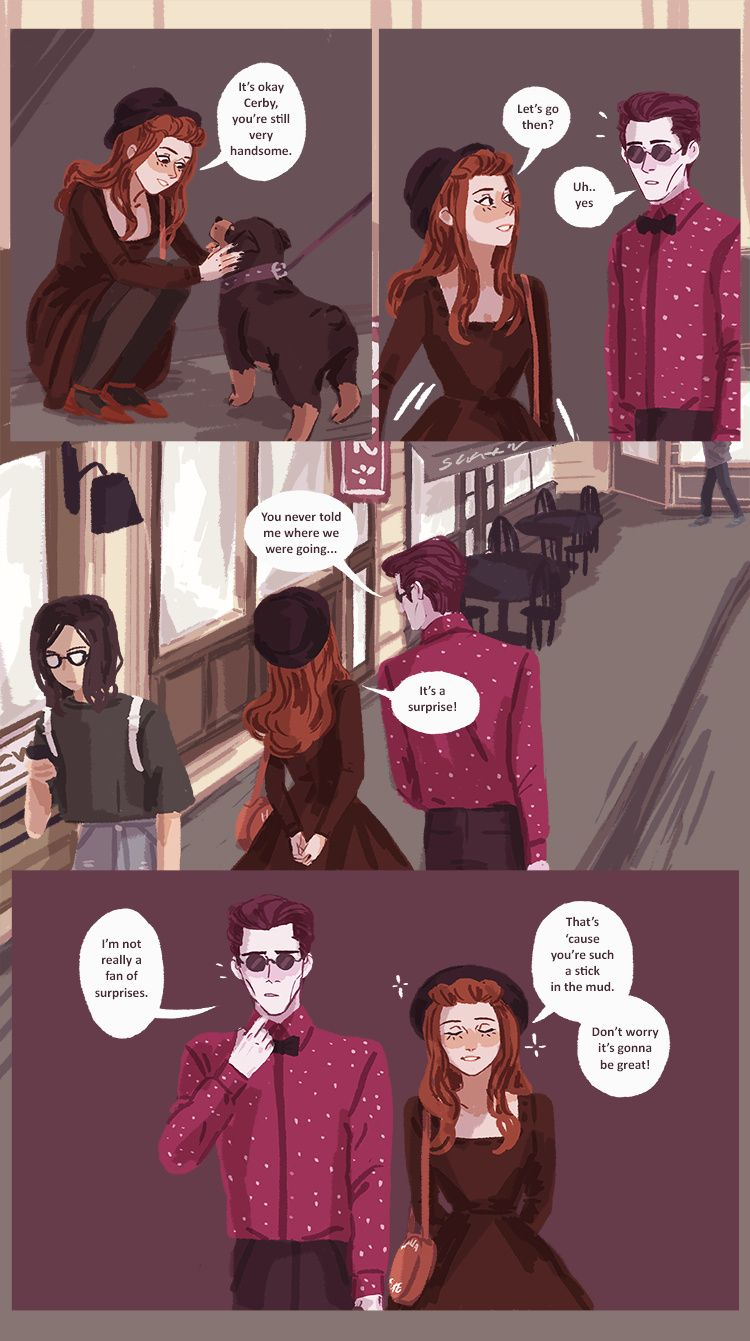 Hades' Holiday :: Part 2. Page 5 | Tapastic Comics - image 1