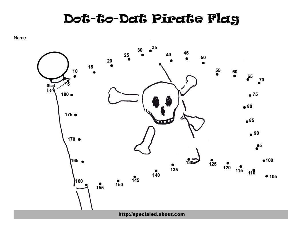 Counting Dot To Dot For Christmas Skip Counting Pirates Pirate Maths [ 816 x 1056 Pixel ]