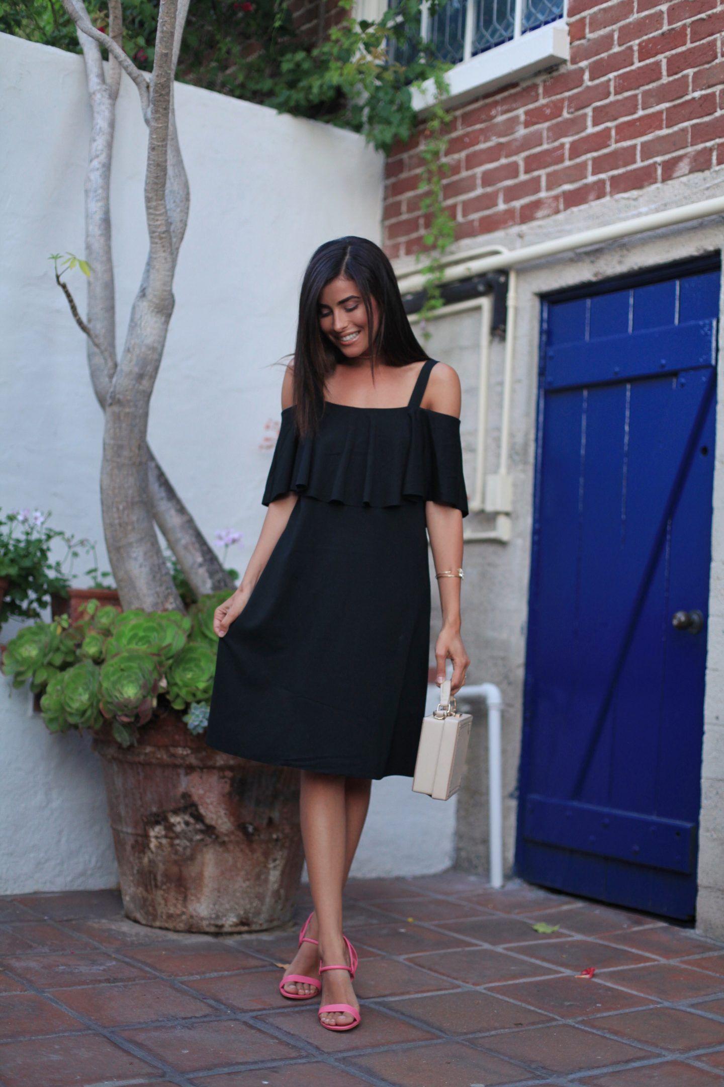Little Black Dress In Laguna Beach Sazan Little Black Dress Black Dress Dresses [ 2161 x 1440 Pixel ]