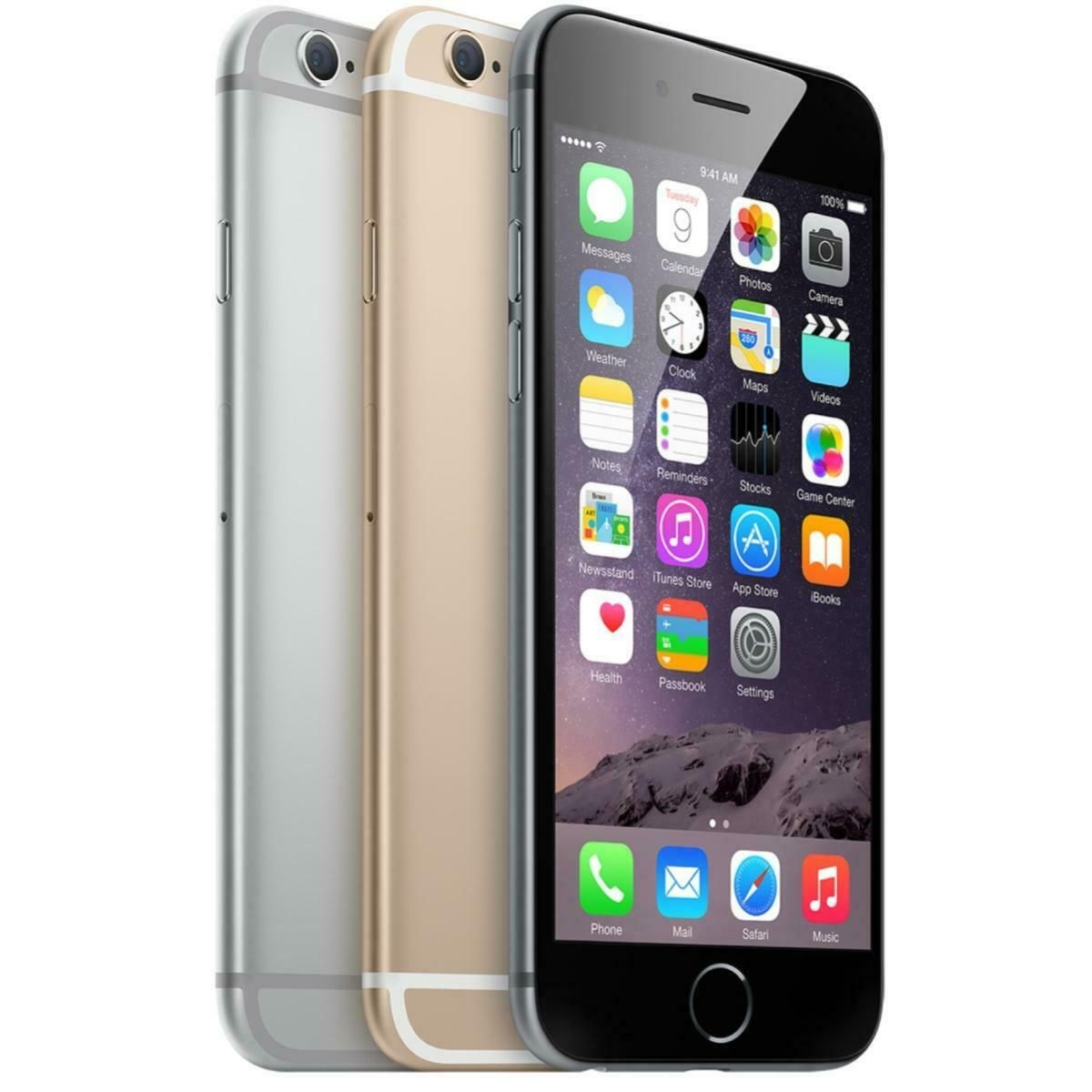 Apple iPhone 6 16/64/128GB GSM Unlocked 4G LTE iOS