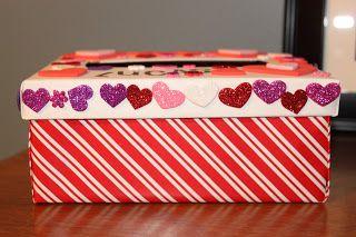 Domestically Devon Valentine Storage Box Valentines Card Holder Diy Valentines Crafts Kindergarten Valentines