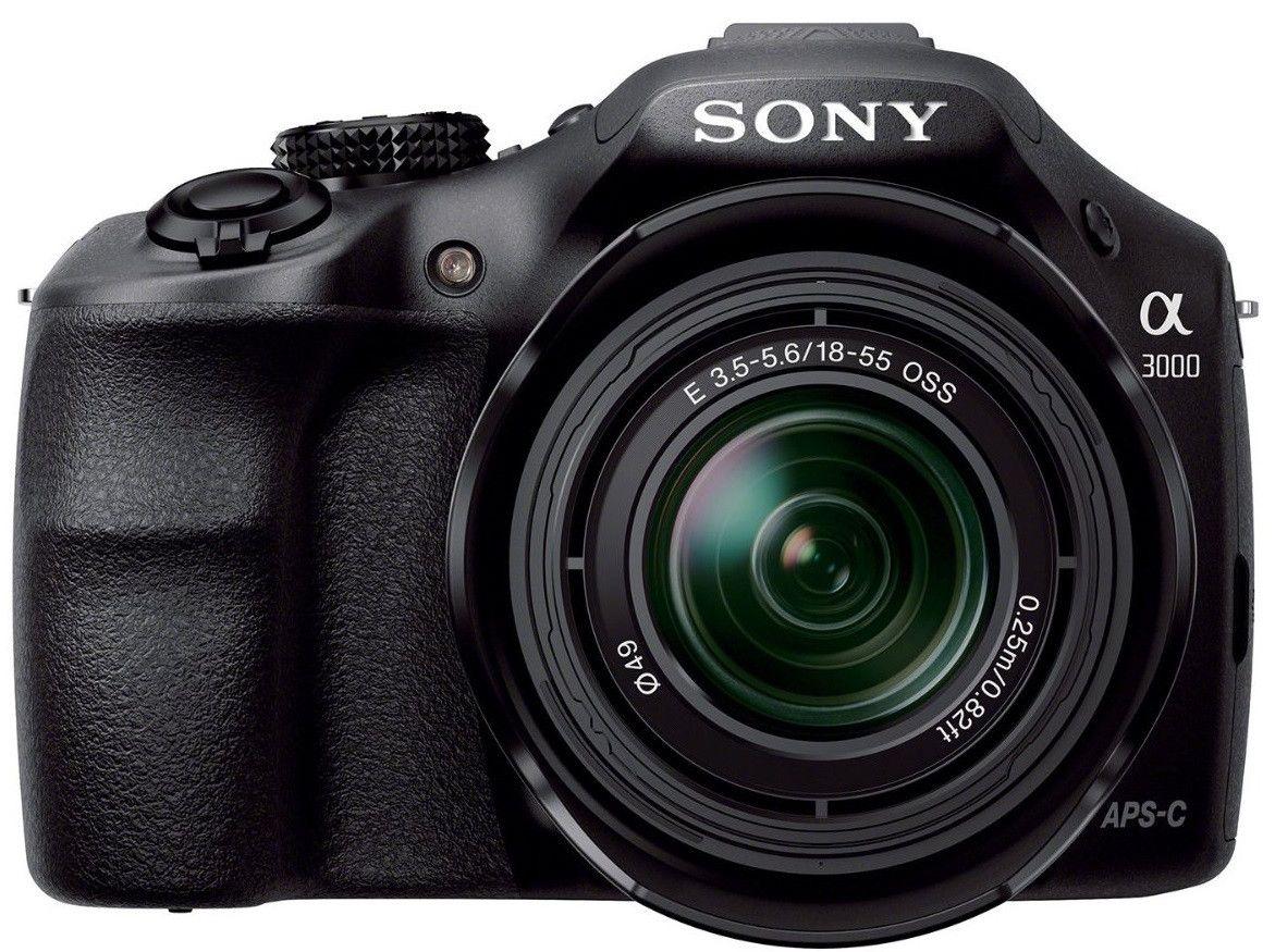 Sony Alpha A3000 20 1mp Compact Digital Camera W 18 55mm Lens 269 Free Shipping Best Digital Slr Camera Mirrorless Camera Compact Digital Camera