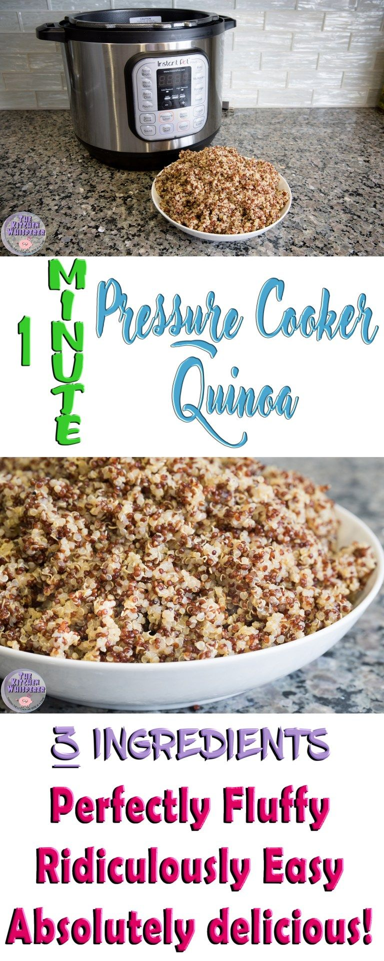 How To Cook Quinoa In A Pressure Cooker