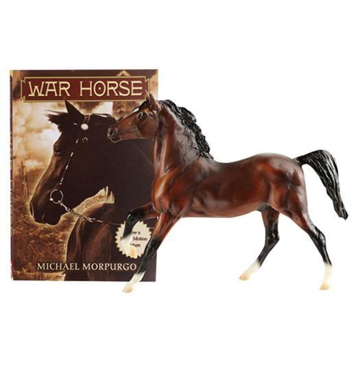 Breyer Classics Horse & Book Set - War Horse   www greenhawk