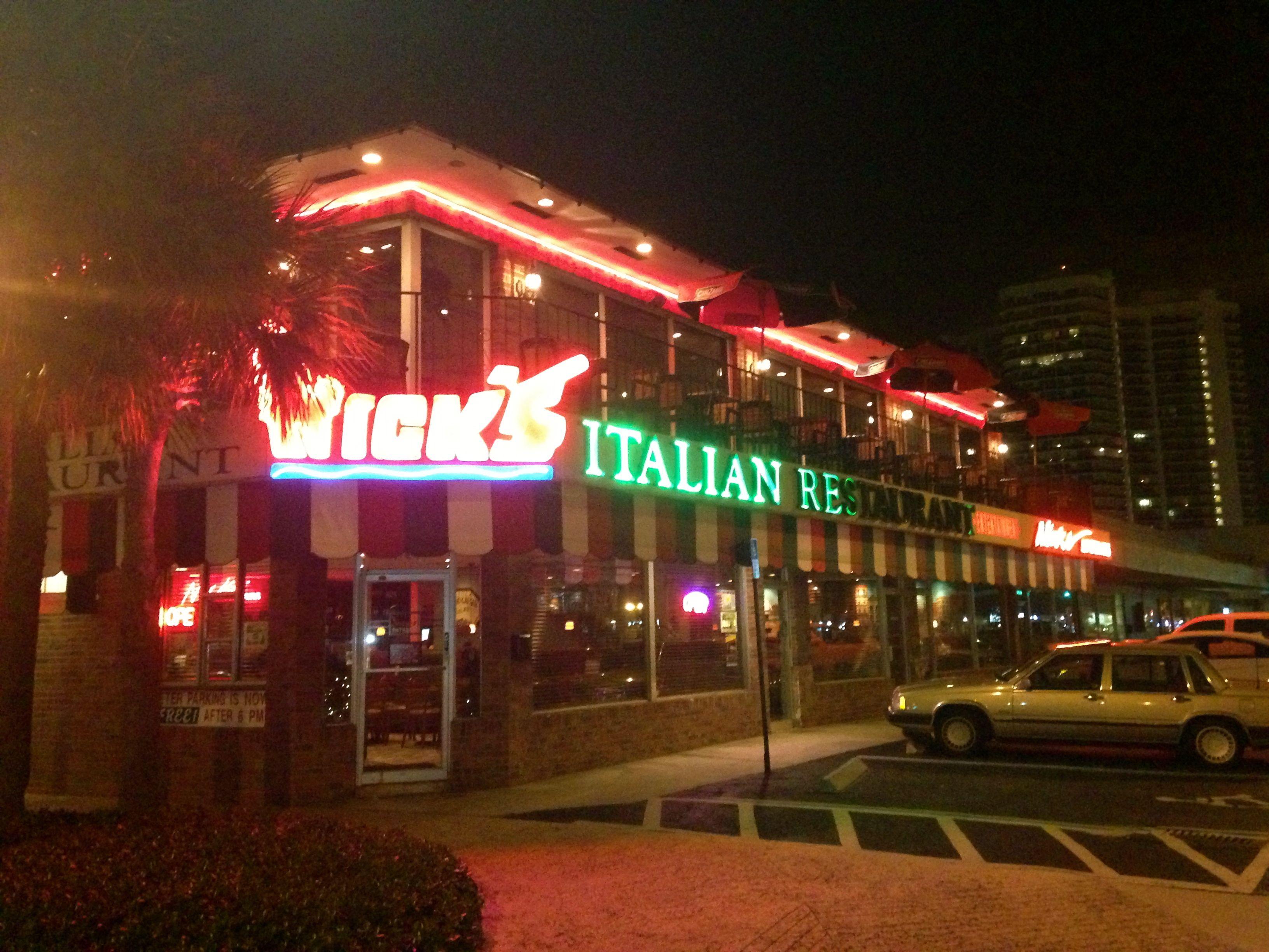 Nick\'s Italian Restaurant in Ft. Lauderdale, FL | Our Honeymoon ...