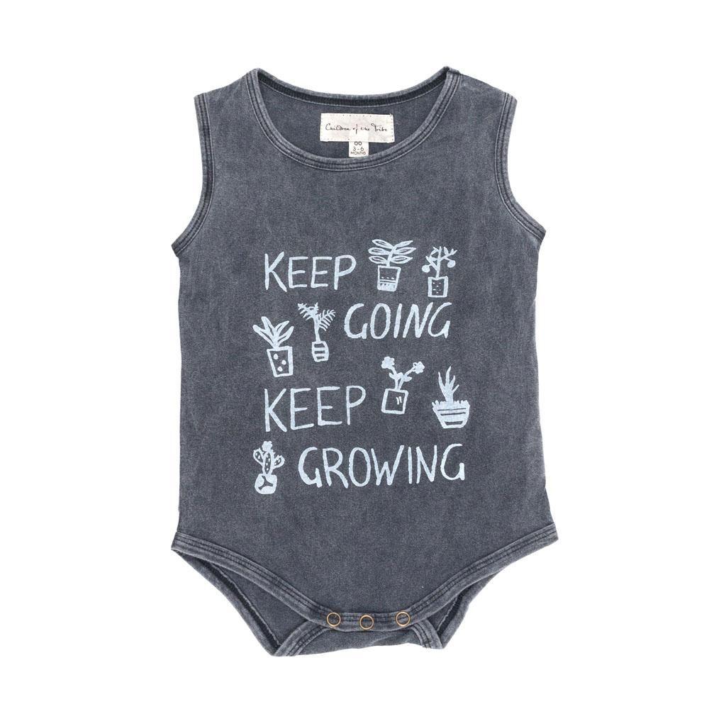Keep Growing Singlet Onesie (With images) Onesies
