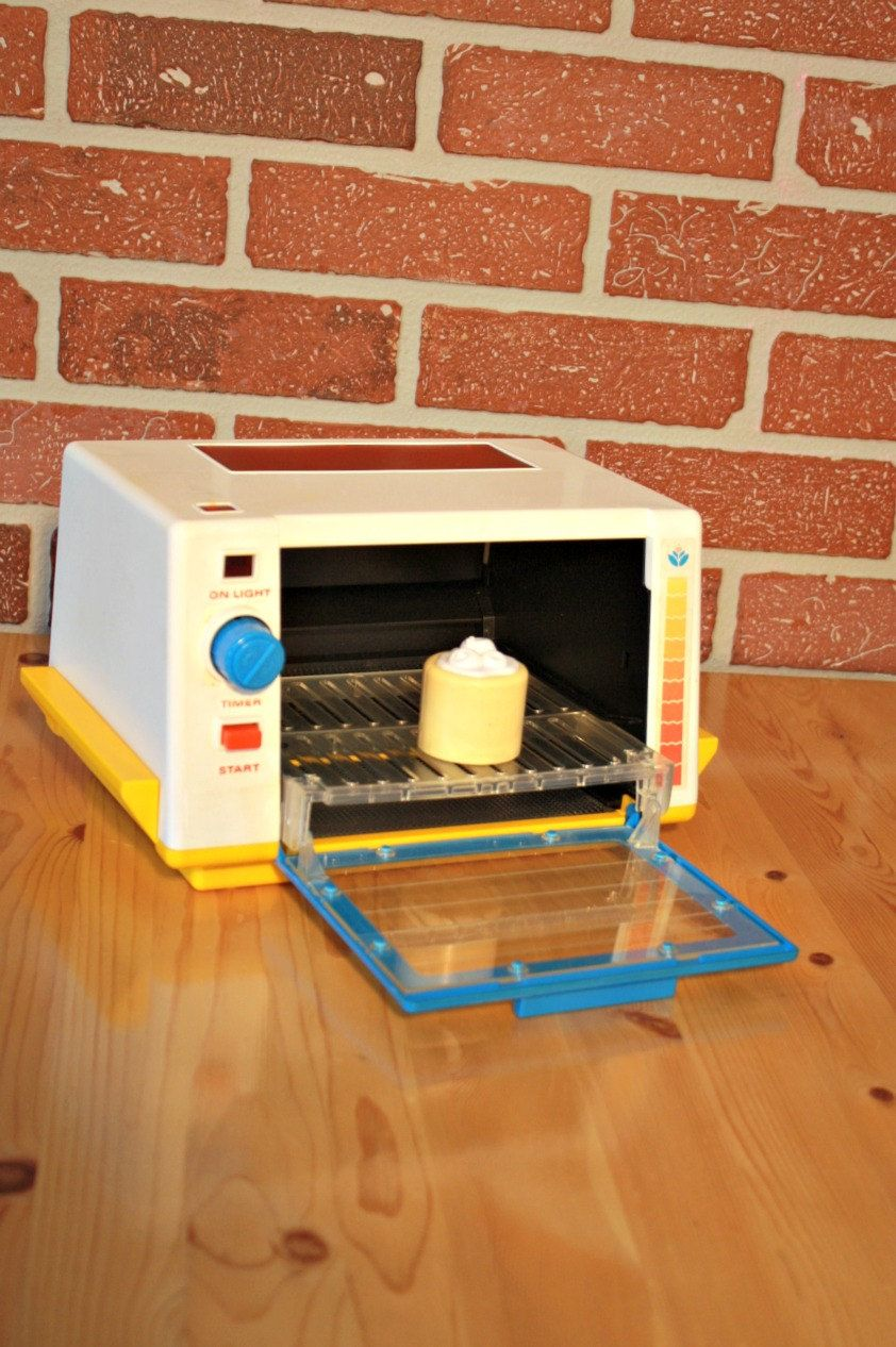 Fisher Price Toaster Grill Oven 1987 Retro Toys Kitchen