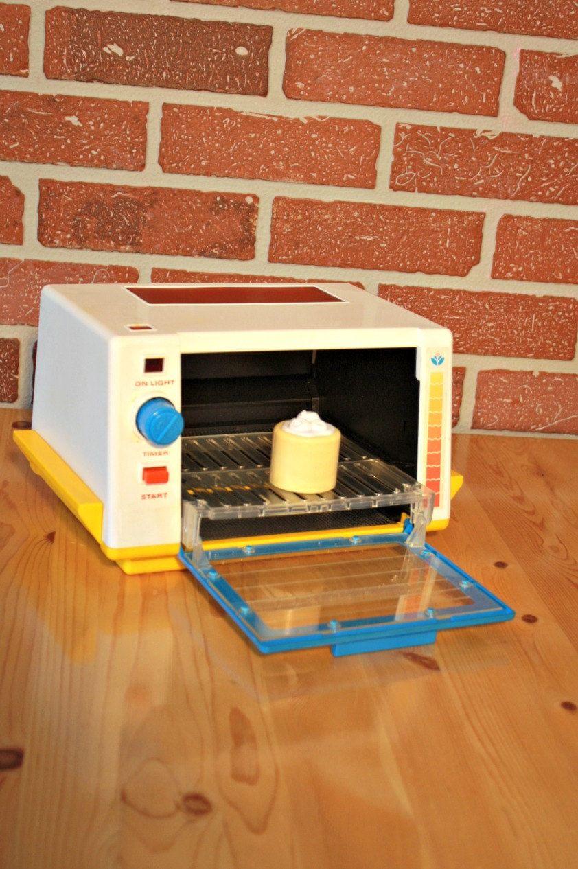 FisherPrice toaster grill oven 1987 retro toys kitchen