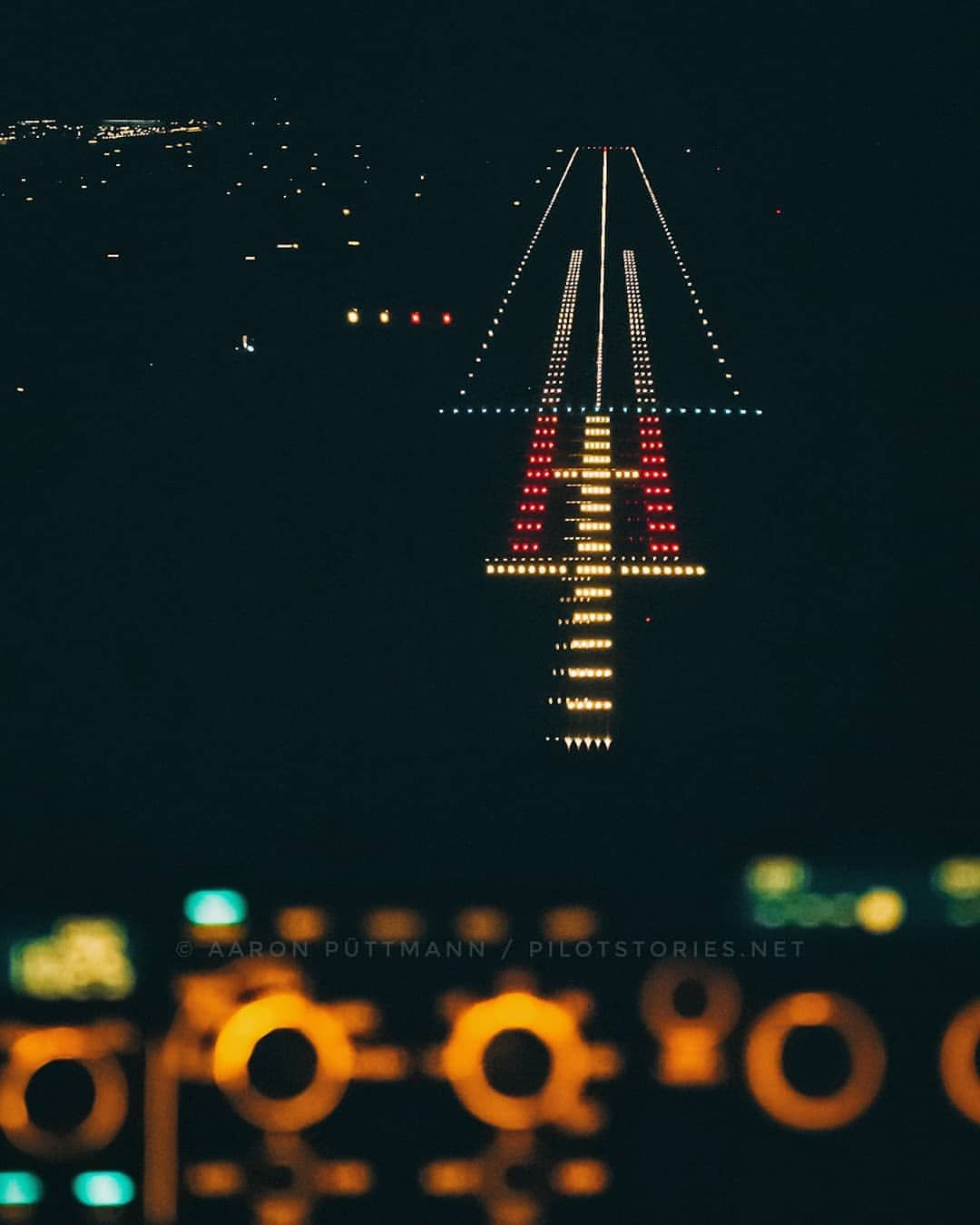 Approaching Runway 08r At Munich Airport On A Cold And Moody