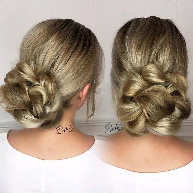 23 Elegant and Beautiful Bridesmaid Hair Ideas ...