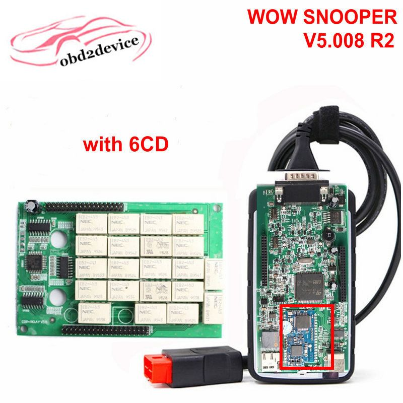 2017 NEC Relays WOW SNOOPER with Wurth 5 008 R2 Diagnostic