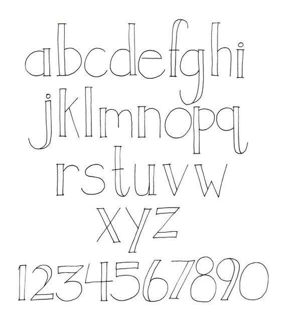 Pin By Henriette Cooper On Adesivi    Handwriting Fonts