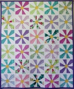 shadow daisy quilt pattern | QUILT PATTERNS AND KITS - The ... : daisy quilts - Adamdwight.com
