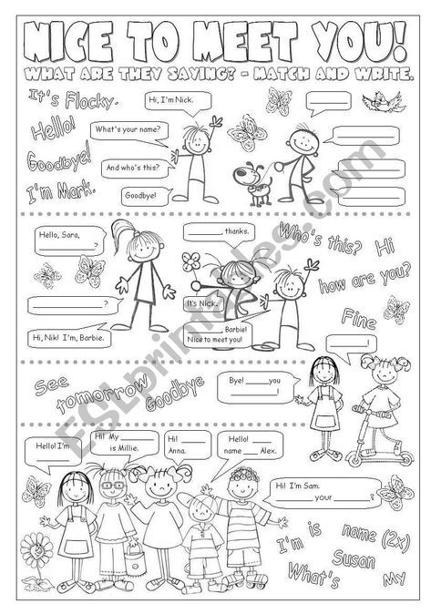 worksheets for beginners going with Happy Street 1 / Unit