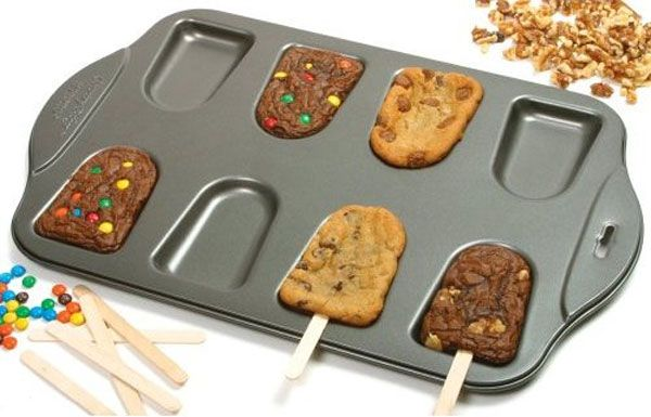 Make Cookies Brownies Popsicle In Cake Sicles Pan With Images