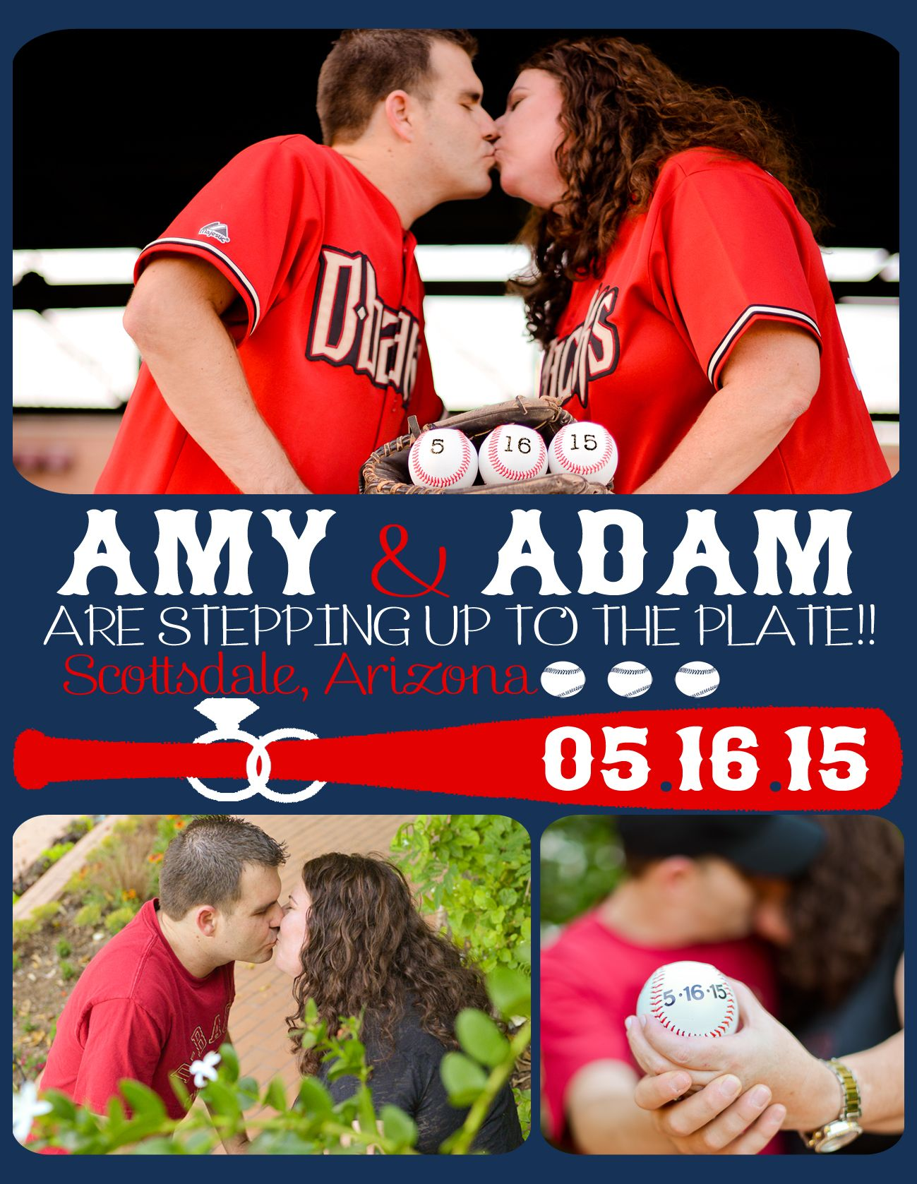 baseball theme save the date wedding wedding save the date