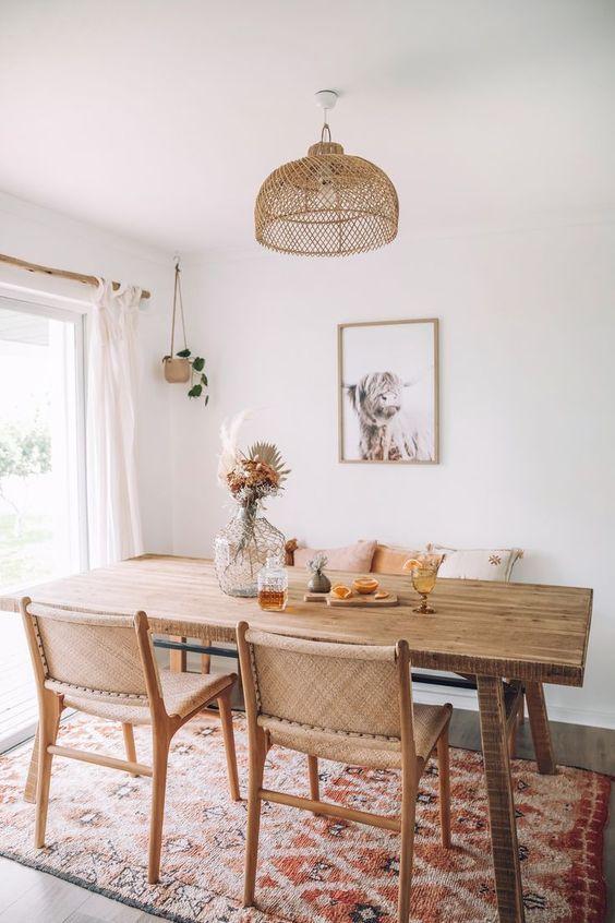 Yemek Masası ve Sandalye Seçiminin Püf Noktaları