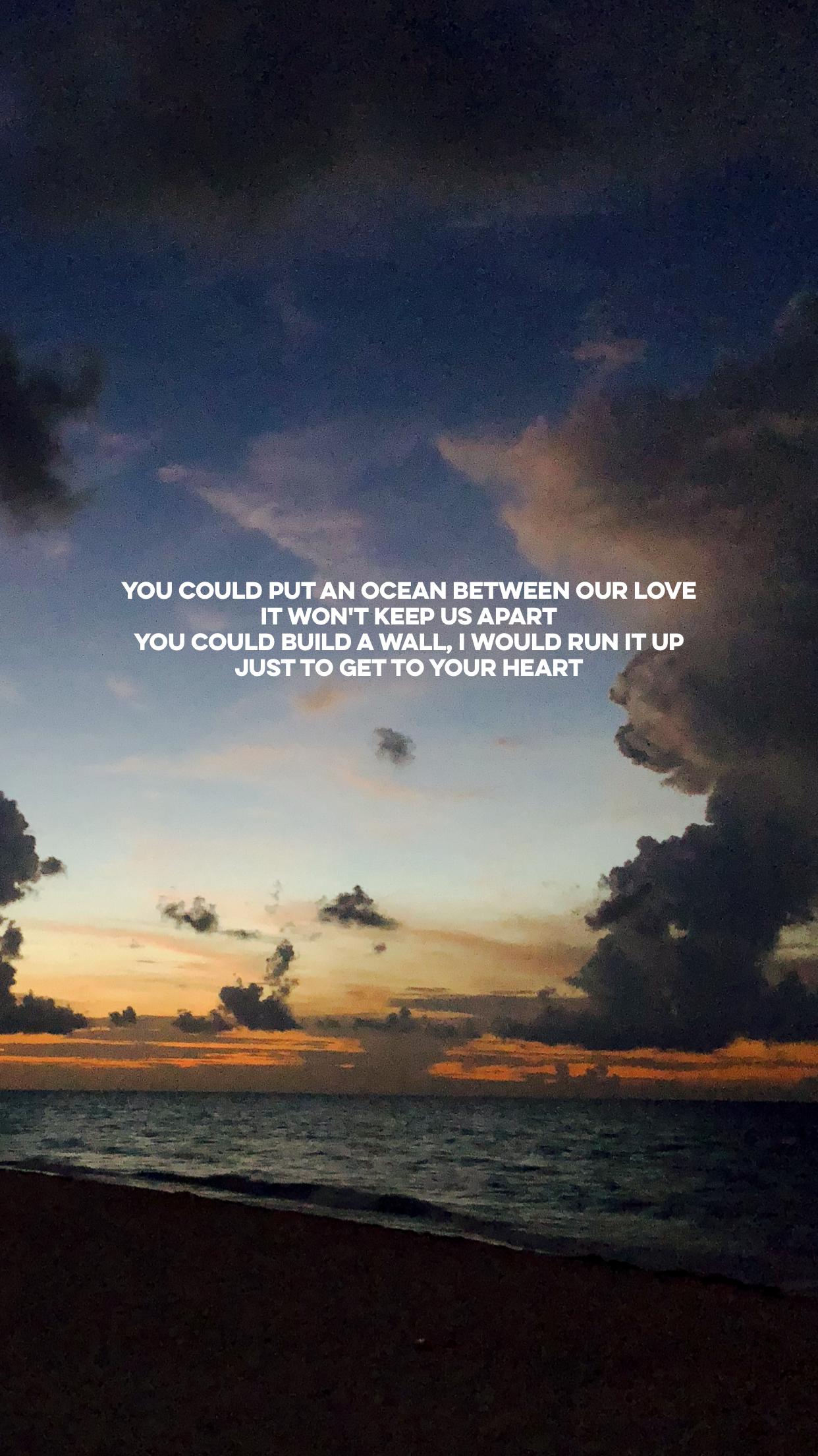 Ocean Martin Garrix Ft Khalid Khalid Lyrics Khalid Quotes Lyrics Aesthetic